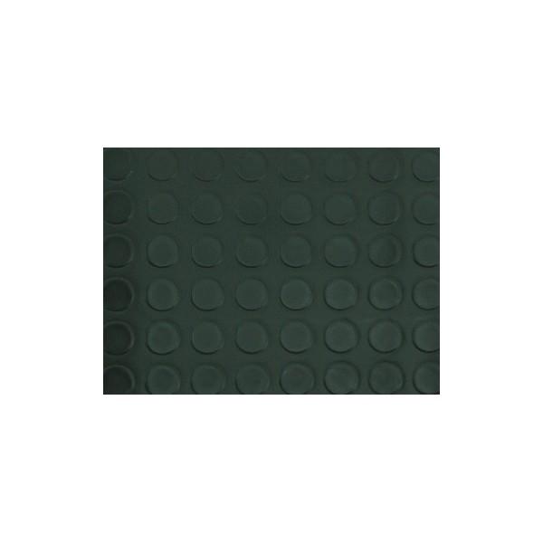 Suelo de pvc circulos color negro moquetas feriales for Moqueta ferial barata