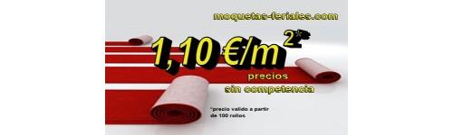 Moqueta ferial por rollo moquetas feriales for Moqueta ferial barata
